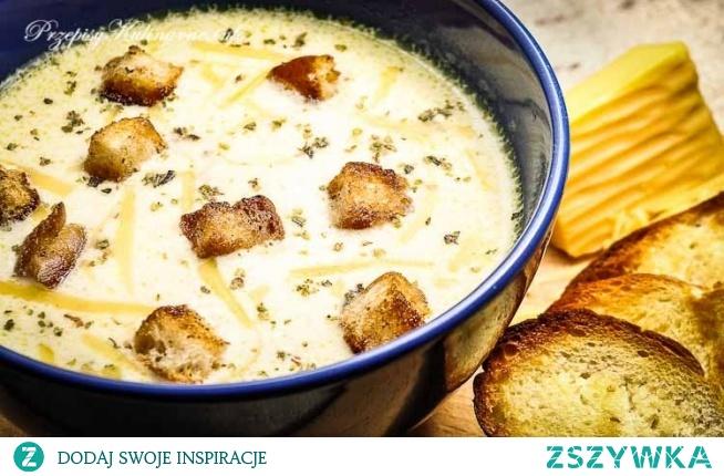 Zupa serowa Renaty