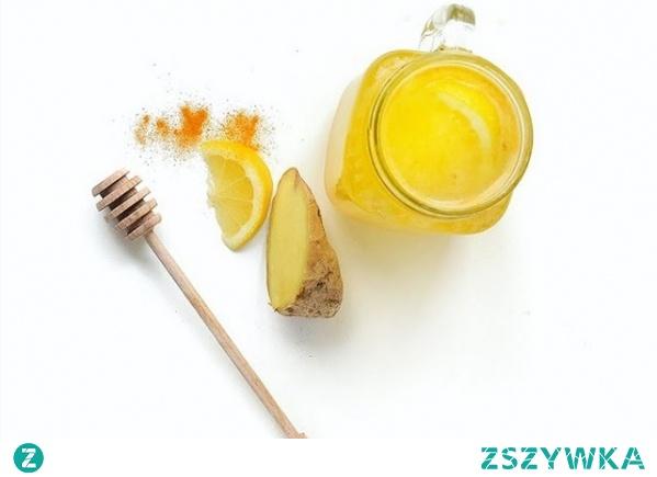 cytryny kurkuma imbir miód