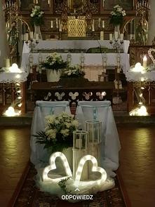 Dekorowanie kościoła. Propozycja.