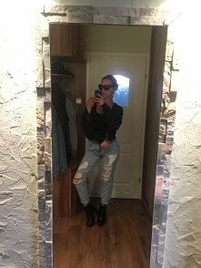 Porwane jeansy od _madlajnn z 24 września - najlepsze stylizacje i ciuszki