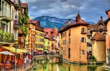 Piękne miasteczko Annecy we Francji <3 Zapraszamy na puzzle na puzzlefacto...