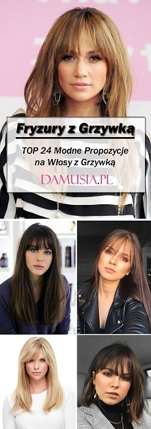 Fryzury z Grzywką: TOP 24 Modne Propozycje na Włosy z Grzywką