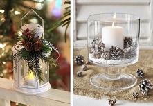 dekoracje do domu z szyszkami