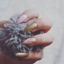 My semilac nails ♡