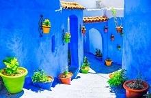Miasteczko Chefchaouen , Maroko :) #puzzle #układanka #gry #online #podróże #...