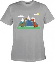 Koszulka DINO KIDS LIGHT GREY 116