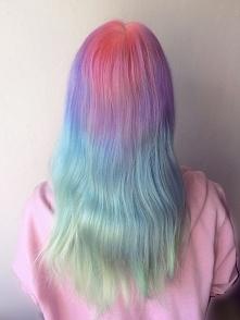 Moje ''nowe'' włosy <3 uwielbiam je ^^ ig: foxypastel