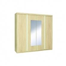 Avignon szafa 4-drzwiowa 181cm Dąb Sonoma/Biały Alpejski 20