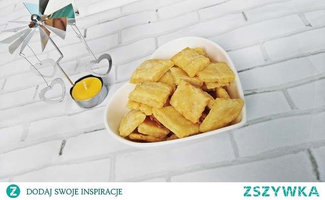 Ciasteczka twarogowe to szybki i prosty sposób na zabicie małego głoda na coś słodkiego ;)