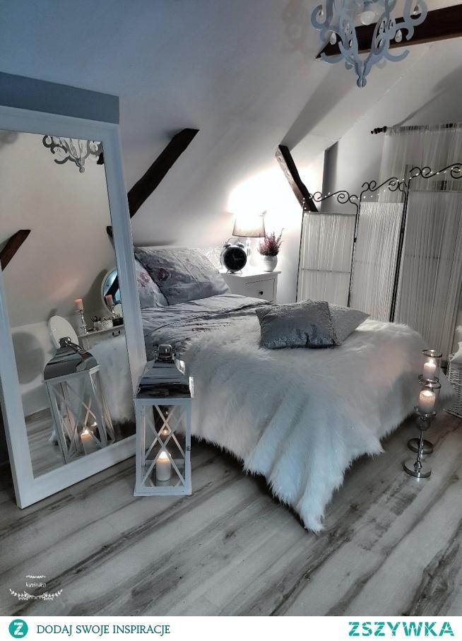 Sypialnia Lozko Ikea Przytulnie Na Wnętrza Dodatki Zszywkapl
