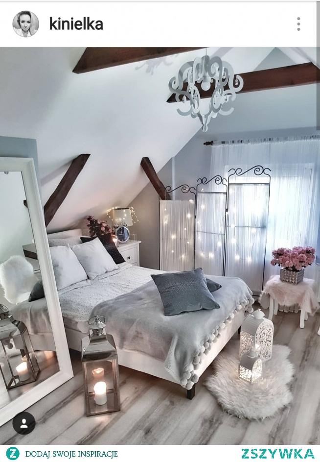 Romantyczna Sypialnia Ikea Na Wnętrza Zszywkapl