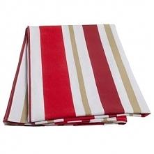 Obrus Heinner 100% bawełniany 150x200cm czerwone paski
