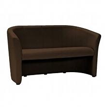 Sofa TM-3 brąz ekoskóra salon firma biuro