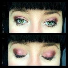 Dzisiejszy makijaż wykonany cudowną paletką firmy Essence. Wczoraj ja kupiłam...