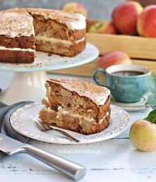 Ciasto Jabłkowe z Kremem Se...