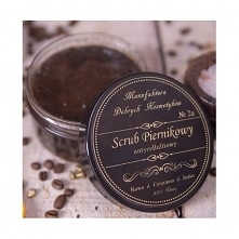 Cukrowy Scrub Piernikowy spełnia funkcje złuszczania, natłuszczania, masażu, regeneracji, oczyszczania i aromaterapii. Zawarty cukier złuszcza naskórek mechanicznie oraz dzięki ...