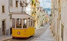 Znak rozpoznawczy Portugalii - żółty tramwaj, Lizbona :) #puzzle #układanka #...