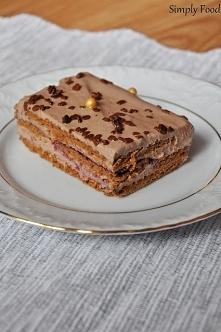 Ciasto kakaowe bez pieczeni...