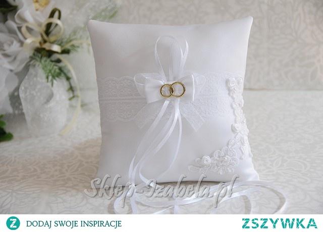 Poduszka na obrączki ślub