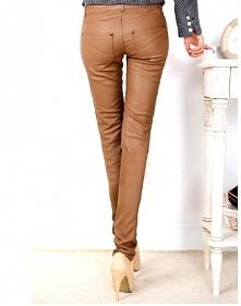 Skórzane spodnie są bardzo ...