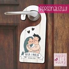 Zawieszka na klamkę dla nowożeńców
