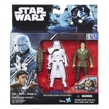 Figurki Hasbro SW Snowtrooper Officer and Poe Dameron