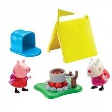 Zestaw Tm Toys Peppa Kemping z figurkami i akcesoriami PEP06389