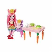 Enchantimals - Wesoła kuchnia Bree Bunny i królik Twist - FRH44/FRH47