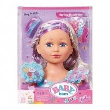 Lalka Baby Born Siostrzyczka Głowa do stylizacji wróżka