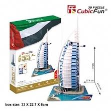 Puzzle 3D Burjal Arab Zestaw XL 101 elementów