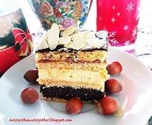 Ciasto marcepanek według siostry Anastazji - mak i ser - dla mnie połączenie ...