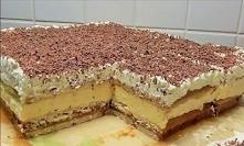 Ciasto 3 bit bez pieczenia z mascarpone