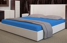 My Best Home Prześcieradło Na Materac Frotte, 200X220 Cm, Niebieskie