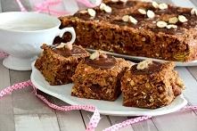 super zdrowe ciasto wysokobłonnikowe (bez miksera)   Zdrowsza wersja słodyczy...