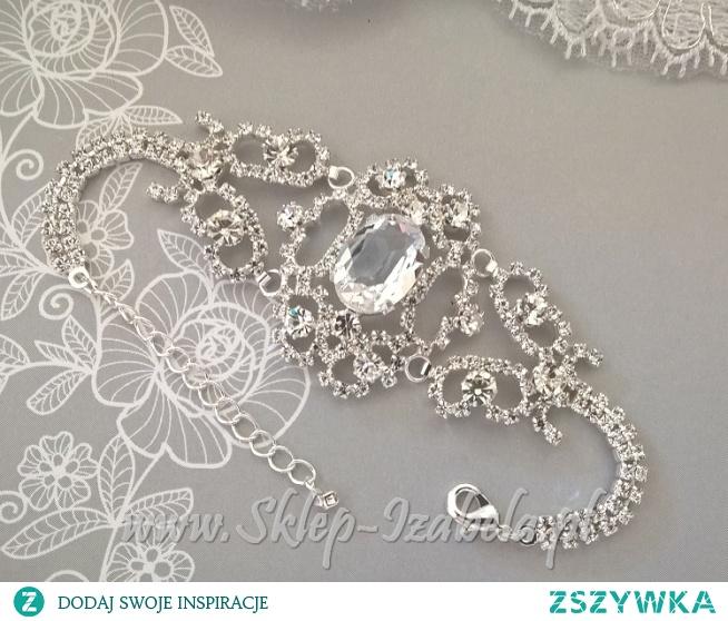 Bransoletka biżuteria do sukienki na ślub
