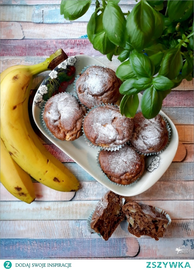 Bananowe babeczki z cynamonem – babeczki dla dzieci