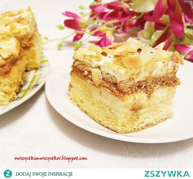 Ciasto migdałowiec według siostry Anastazji - polecam każdemu łasuchowi ;-)