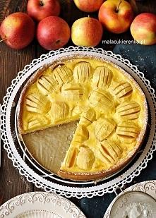 Ciasto z Jabłkami w Polewie...