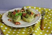 Leniwe gorgonzole z bazylio...