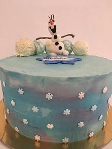 #frozen #olaf #tort #dekora...
