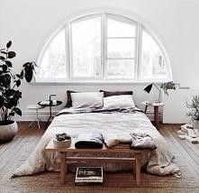 sypialnia delikatnie rustyk...