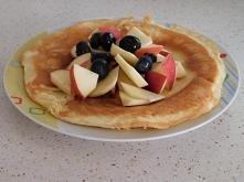 śniadanie - omlet serowy od @fit_patka