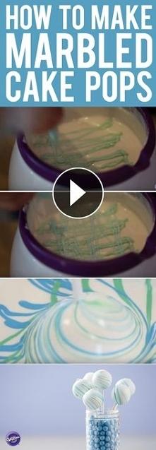Jak zrobić marmurkowe cake ...
