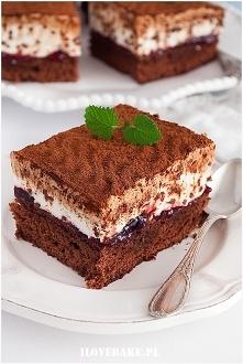 Ciasto kostka kawowa