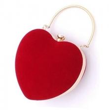 Torebka w kształcie serca - idealna na wszelkie okazje :)