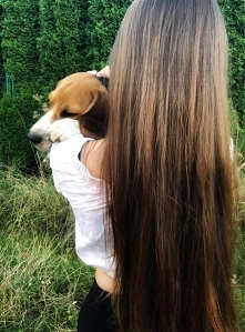Największa miłość włosomaniaczki to... jej pies