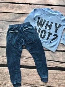 Spodnie dresowe ala jeans
