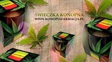 ZAPACHOWA ŚWIECZKA - CANNABIS  IDEALNA NA PREZENT !!!  Świeczka zapachowa Can...