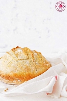 Prosty domowy chleb pszenny - Najlepszy przepis - Wypieki Beaty