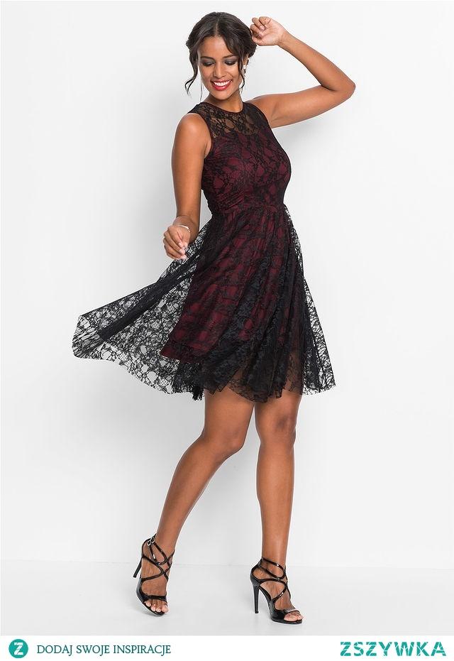 80eeae2b3d Sukienka Mała Czarna Koronkowa Link W Komentarzu Na Sukienki